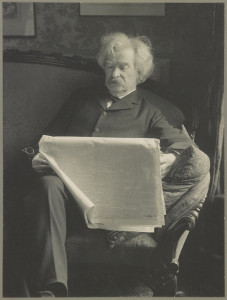Mark Twain. ds 05448 http://hdl.loc.gov/loc.pnp/ds.05448. Library of Congress Prints and Photographs Division Washington, D.C. 20540 USA