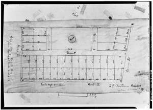 Photocopy of plat (from Portland Registry of Deeds, Book 148, Page 385) delineator and date unknown 'COPY OF PLAN OF PARK STREET PROPRIETARY' - Park Street Block, Park, Spring & Gray Streets, Portland, Cumberland County, ME. Digital ID: (None) hhh me0025.photos.087875p http://hdl.loc.gov/loc.pnp/hhh.me0025/photos.087875p. Library of Congress Prints and Photographs Division Washington, D.C. 20540 USA http://hdl.loc.gov/loc.pnp/pp.print