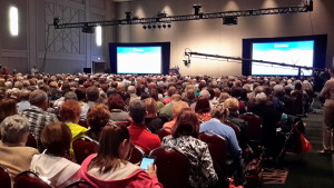 RootsTech 2015 Census Workshop. Photo by Lynn Funk. Used with permission.