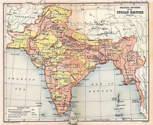 British Indian Empire 1909 Imperial Gazetteer of India by Edinburgh Geographical Institute; J. G. Bartholomew and Sons. - Oxford University Press, 1909.