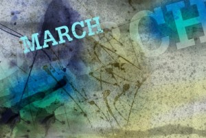 March Month Art Grunge Design by fotographic1980/ Courtesy of Freedigitalphotos.net
