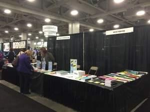 National Institute Booth at RootsTech by Shannon Bennett. Used with permission.