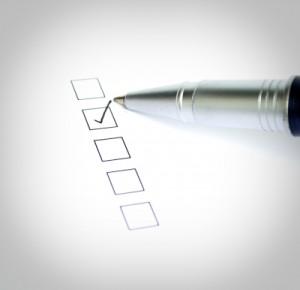Checklist by Rawich/Courtesy of Freedigitalphotos.net