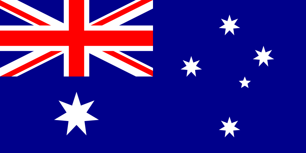 Australian flag By Ian Fieggen (Own work) [Public domain] via Wikimedia Commons