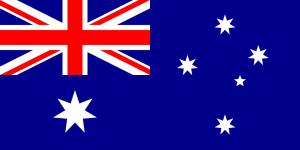 Australian flag By Ian Fieggen (Own work) [Public domain] via Wikimedia Commons
