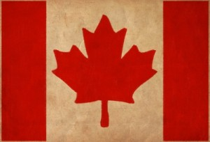 Canada Flag Drawing ,grunge And Retro Flag Series by taesmileland/Courtesy of Freedigitalphotos.net