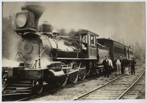 Barclay Railroad, Locomotive 2 with Tender and Cars. SMU Central University Library. Flickr the Commons. https://flic.kr/p/jXucRF