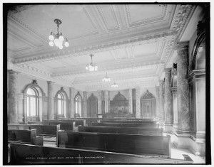 Probate court room, Wayne County Building, Detroit. Library of Congress. http://hdl.loc.gov/loc.pnp/det.4a09788