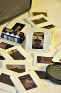 Pile Of Old Film Slides Of Art And Culture Memories by varandah/Courtesy of Freedigitalphotos.net