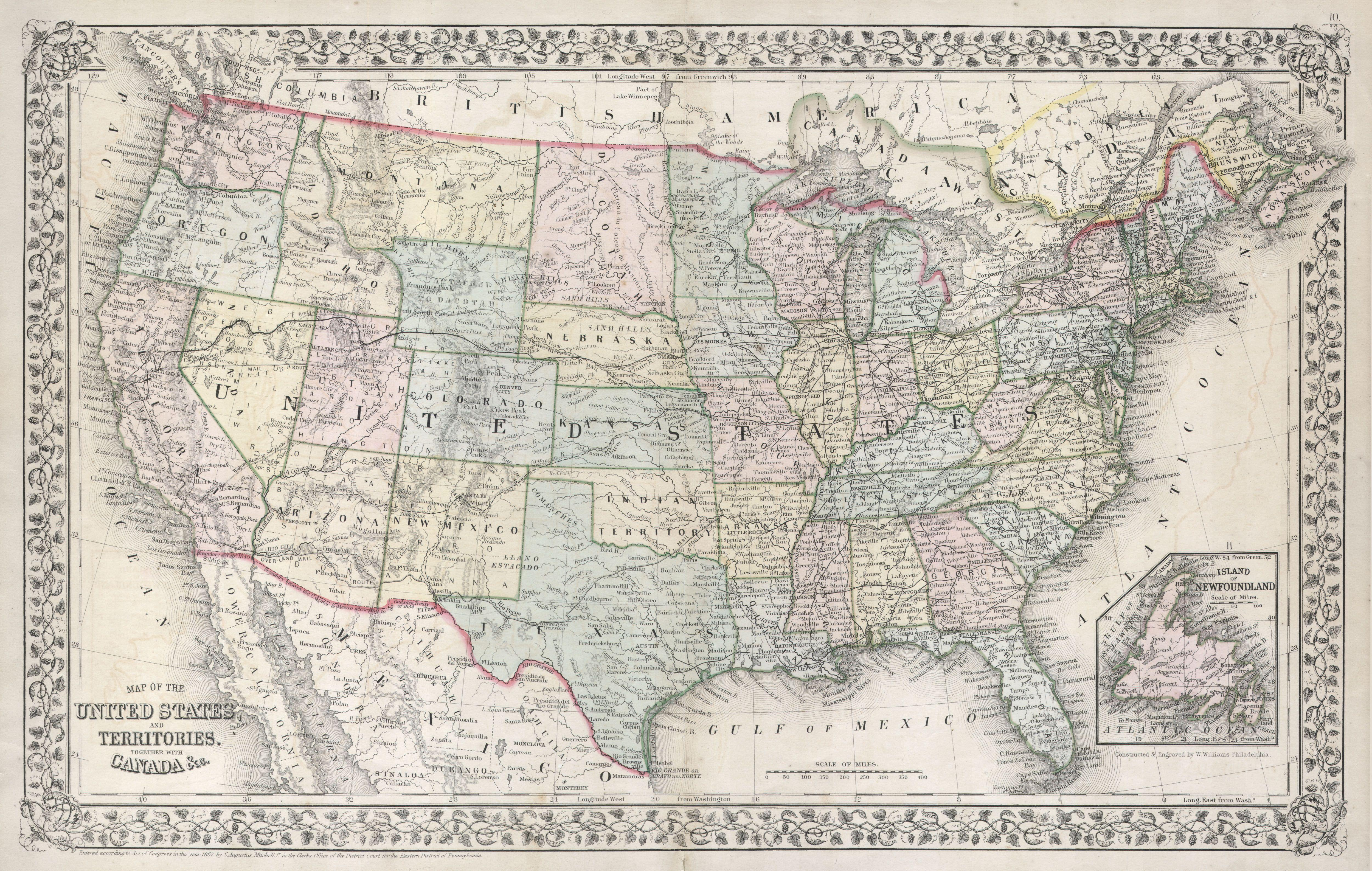 Best of Diagram Us Map With Capitals And Postal ...