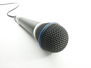 Microphone by Master isolated images/Courtesy Freedigitalphotos.net