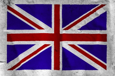 Uk Flag On Rough White Paper by criminalatt/Courtesy of Freedigitalimages.net