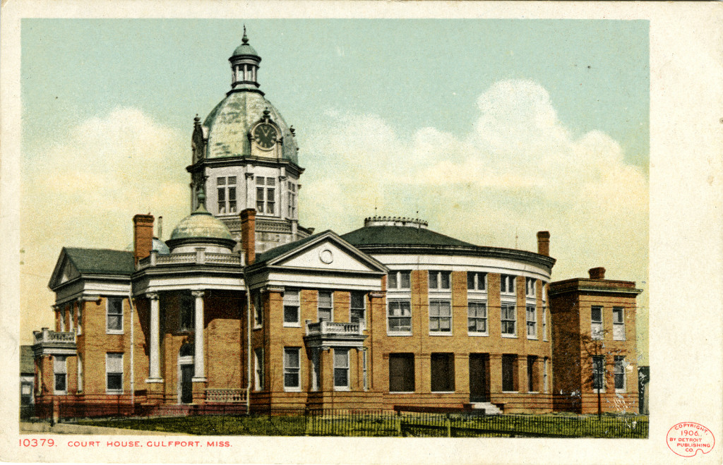 Couthouse at Gulfport, Mississippi. Mississippi Dept of Archives and History. Flickr the Commons.https://flic.kr/p/iM9mQF